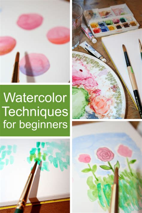 watercolor tutorial basic watercolor techniques for beginners the craftsy blog