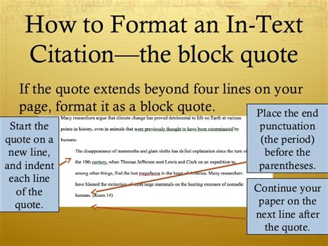 block quote mla mla format 2