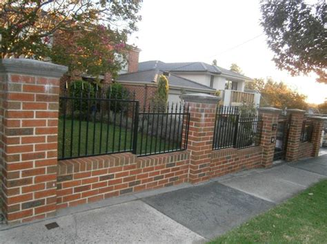 Build Your House Online Free by Brick Fencing Melbourne Brick Fence Solutions