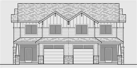 craftsman duplex house plans luxury duplex house plans