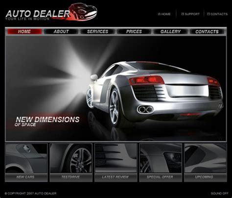Car Dealer Templates Auto Dealer Designs Auto Dealer Website Design Auto Dealer Website Car Dealer Website Template