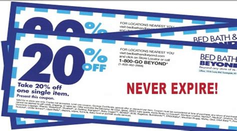 bed bath and beyond coupom bed bath and beyond making changes to coupons