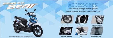 Rubber Step Floor Honda Beat Pop Karpet Genuine Part Asli Resmi tdm hadirkan honda genuine accessories all new honda beat esp