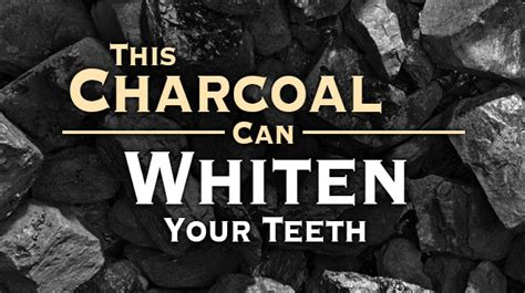 charcoal  whiten  teeth  alternative daily