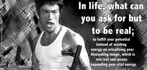 bruce lee real biography in life what more can you ask for than to be real by