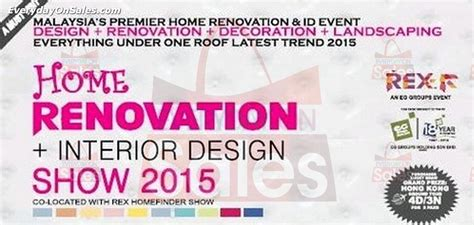 amazing home design 2015 expo home renovation interior design show malaysia 2015