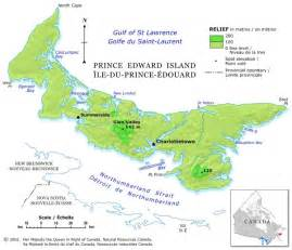 map of canada regional city in the wolrd prince edward