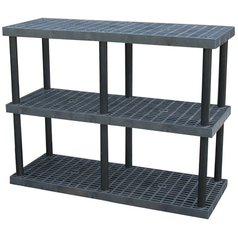 vestil pbss 6624 3 plastic bulk shelving storage by - Plastic Bookshelves