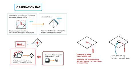 Graduation Hat Origami - graduation hat origami 28 images money origami