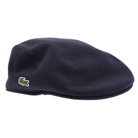 Flat Lacoste lacoste rk0345 pique flat cap lacoste from the menswear