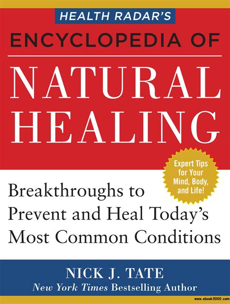 health radar s encyclopedia of healing health breakthroughs to prevent and treat today s most common conditions books health radar s encyclopedia of healing health