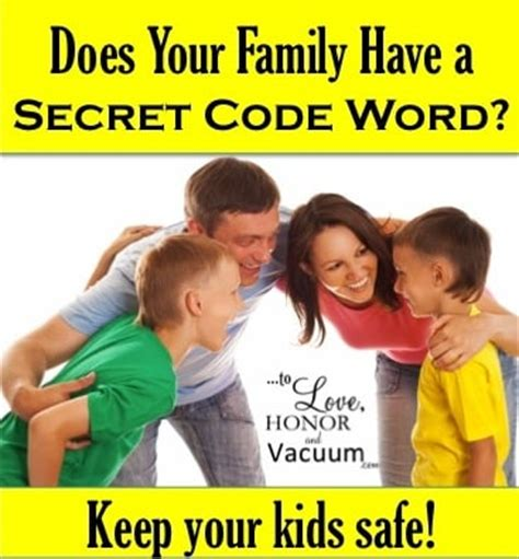 wrong family for every secret there is a family books secret code word why every family needs one