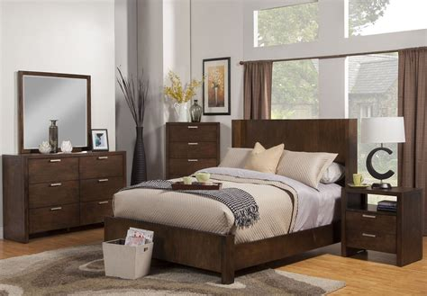 austin bedroom furniture austin chestnut shelter panel bedroom set 1600 01q alpine