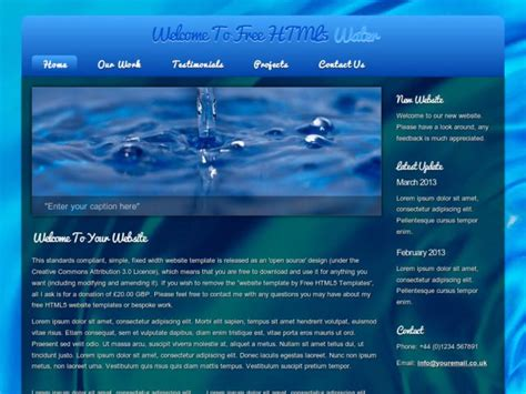 homepage template html website templates fotolip rich image and wallpaper