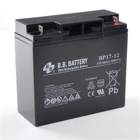 Baterai Ups 12v 17ah 12v 17ah battery sealed lead acid battery agm b b battery bp17 12 vds 181x76x166 mm