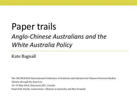 White Australia Policy Essay by Paper Trails Anglo Australians And The White Australia Policy