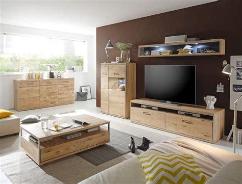 wohnzimmer bild 3 teilig wohnwand esma 26 eiche bianco 3 teilig medienwand tv wand