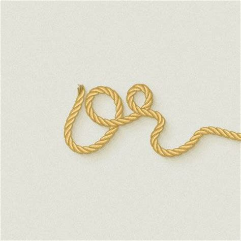 rope pattern brush photoshop use a pattern brush to create a rope text effect in