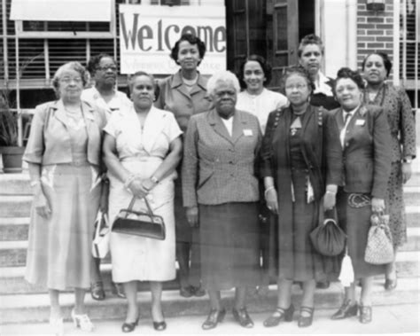 when did color begin national council of negro meeting at bethune cookman