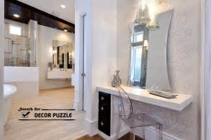 Bathroom Mirror Designs Latest Modern Dressing Table Designs With Mirror For