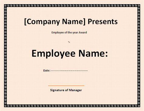 best employee certificate template best employee certificate template by formsword