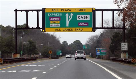 Garden State Parkway Toll by As E Zpass Turns 20 Electronic Toll System Could Link