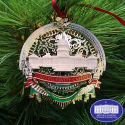 2016 us capitol marble and gold ornament