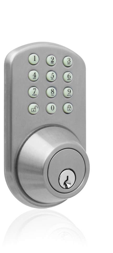 Keyless Door Entry by Milocks Tf 02 Keyless Entry Deadbolt Door Lock With