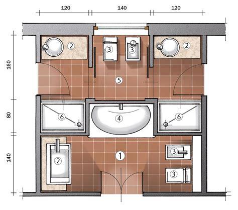 mini bagno progetto ricavare due bagni da uno cose di casa