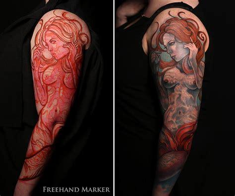 gabriel tattoo calypso sleeve by gabriel tenneson tattoonow