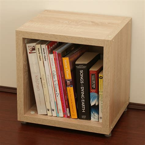 Single Cube Shelf by Single Cube Kit Oak Topshelf