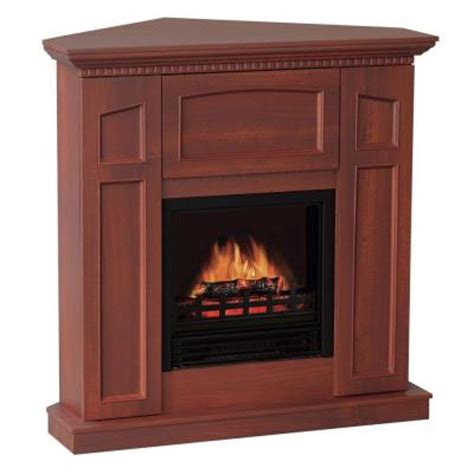 quality craft 36 in convertible electric fireplace in
