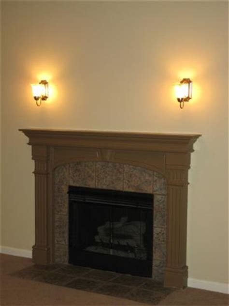 The Best Home Sconces Lighting Over Fireplace Lights In Fireplace