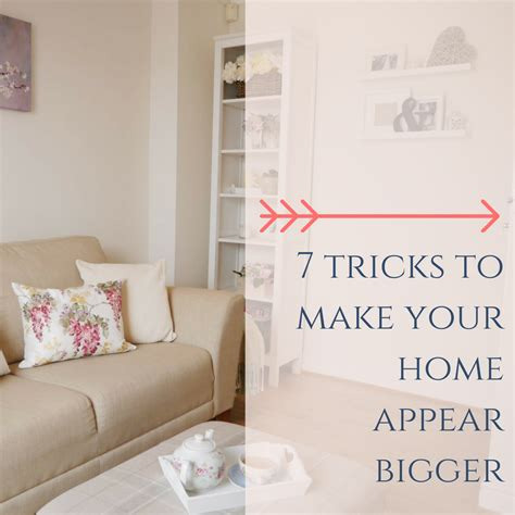 tricks in the bedroom for him 7 tricks to make your home appear bigger dove cottage