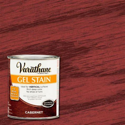 hardwood floor stain colors home depot varathane 1 qt cabernet gel stain of 2 266334