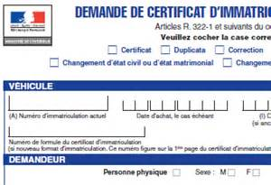 demande en ligne carte grise application