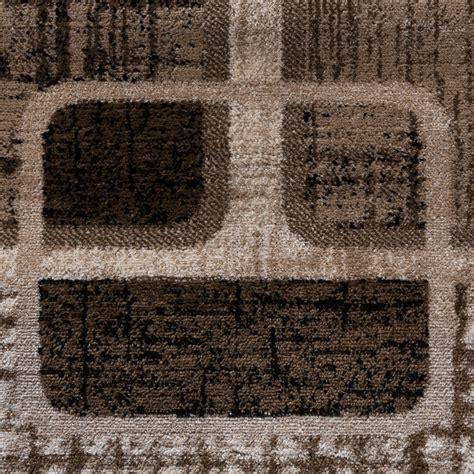 teppich braun g nstig teppich g 252 nstig retro design modern wohnzimmerteppich