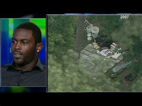 michael vick dog fighting house michael vick was playing golf during police raid youtube