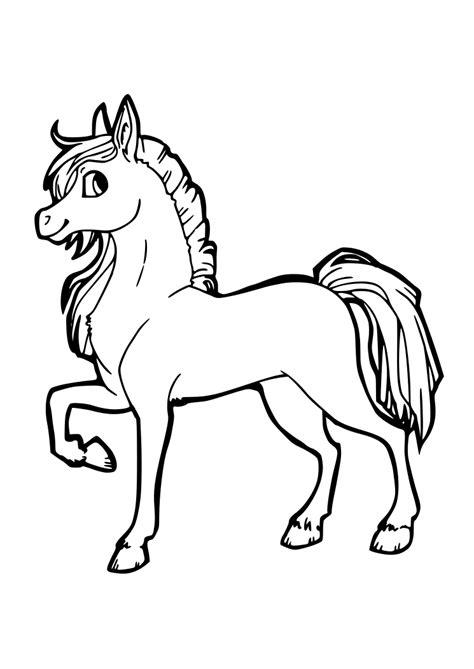 blanco y negro pintura lineal dibujar caballo ilustraci 243 n dibujos para colorear pintar imprimir caballos