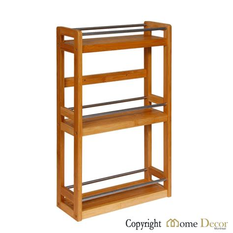 home decor montreal bamboo and metal wall shelf home decor montreal