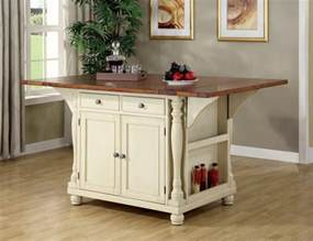 Kitchen Table With Cabinets Buttermilk Cherry Wood Kitchen Island Cabinet Wine Rack Storage 102271 Contemporary Dining