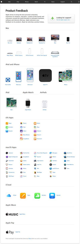 apple feedback www apple com feedback apple product feedback survey