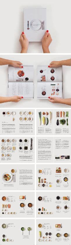 recipe book layout design lovely structure lovely space just nice clean and