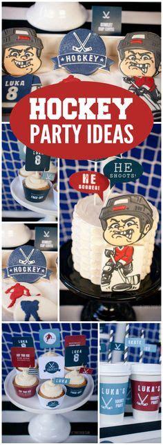 printable hockey decorations hockey theme party invitation decorations full