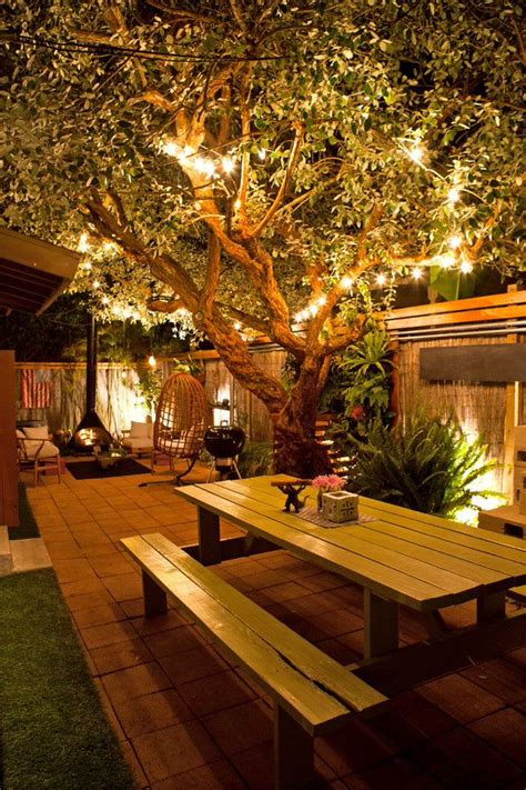 Great Diy Backyard Lighting Ideas Diy And Crafts Home Outside Patio Lighting Ideas