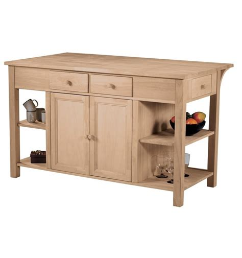 60 inch super kitchen island work center wc 6034 wood you furniture nassau bahamas