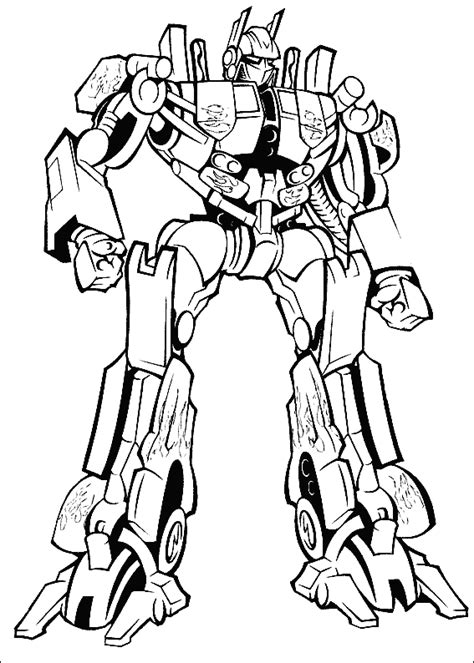 Transformer Color Page transformers coloring pages coloring pages to print