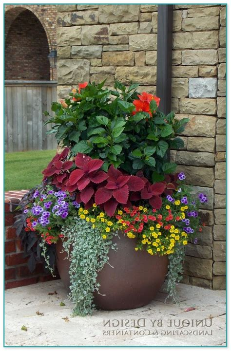 planting gardening ideas container flower gardening ideas 15