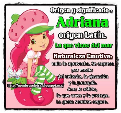 imagenes figurativas y su significado nombreseloisa com significado nombre adriana