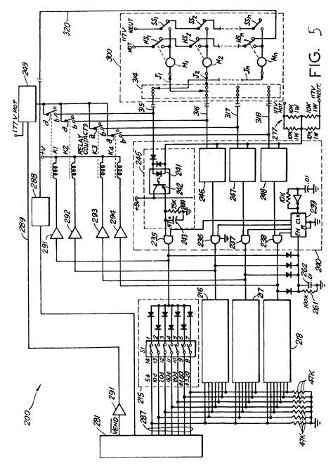 draw diagram patent ep0178811b1 vending machine power switching